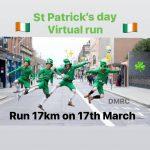 Виртуальный забег св. Патрика