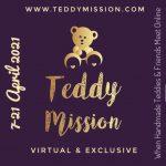 """""""Teddy Mission - весенняя сказка"""" виртуальная выставка авторских игрушек 7-21 Апреля 2021"""